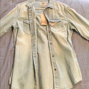 Denim Overshirt Button up